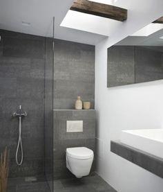 Die 30 besten Bilder auf Badezimmer grau weiß | Badezimmer ...