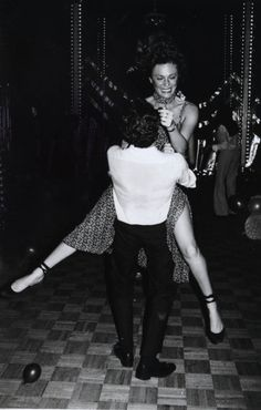 Jacqueline Bisset on the dancefloor at Studio 54, 1970s