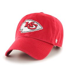 best service 53671 9a8ae ... sweden kansas city chiefs clean up red 47 brand adjustable hat 7547a  4cfac