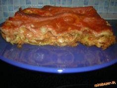 Lasagne s kuracím mäsom