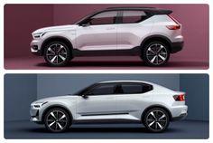 Volvo presenta un avance de su nueva gama de vehículos compactos