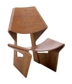 Grete Jalk, GJ sculpture chair, 1963.Part of the MoMA exhibition Designing Modern Women 1890–1990.