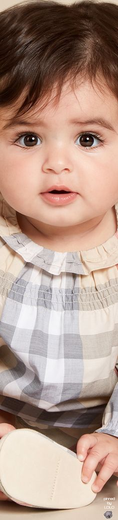 Burberry Baby Girls Check Dress