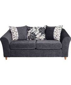 Living Isabelle Sofa Bed - Charcoal.