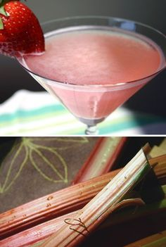 Straight Up: Rhubarb is Springing Up in Warm-Weather Drinks