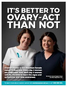 Ovarian Cancer Australia | Ovarian Cancer Awareness Month - Ovarian Cancer Australia Deadly Females, Ovarian Cancer Awareness, Cancer Support, Acting, Self, Australia, Learning, Benefit, February