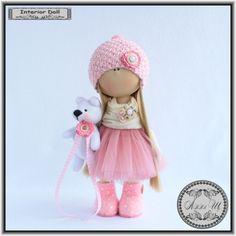 Интерьерная текстильная кукла - Хобби + творческое объединение мастеров рукоделия всех направлений