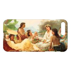 'Sunny Clime Tahiti' - Nicholas Chevalier iPhone 8 Plus/7 Plus Case - romantic gifts ideas love beautiful