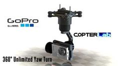 If you want to buy cheap 3 axis gopro gimbal just contact Copterlab. It provides better control and stability for those unique shots. Easy To Use and Simple to Operate.