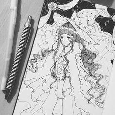 15. #inktober Royal Witch