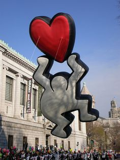 Keith Haring Balloon in the 2008 Macy's Thanksgiving Parade.