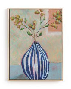 Framed Canvas | Minted Canvas Art Prints, Painting Prints, Fine Art Prints, Wood Canvas, Canvas Frame, Home Wall Art, Wall Art Decor, Childrens Room Decor, Rustic Blue