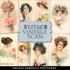 Brindes Kit de cartão do vintage