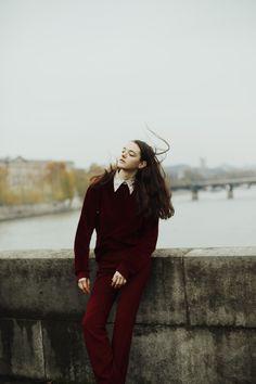 stannats:    Diana Silchenko photographed by Fanny Latour Lambert / IMG Models