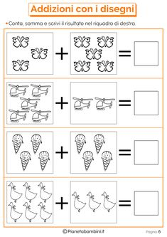 Risultati immagini per domino addizioni entro il Kindergarten Math Worksheets, 1st Grade Worksheets, Learning Activities, Preschool Activities, Kids Learning, Phonics Books, Singapore Math, Math Addition, Simple Math