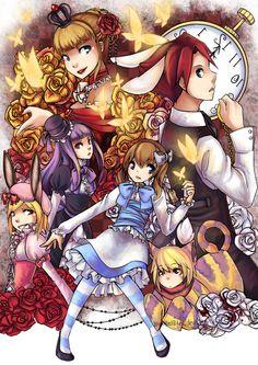 Umineko: Maria in Wonderland by Sangcoon.deviantart.com on @deviantART WickedWonderland ^^!