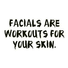 I'm your skins PT ✨✨ 'Facials are workouts for your skin' #medizen #birmingham…