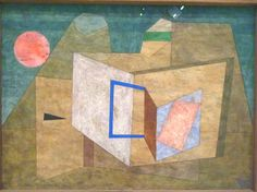 Paul Klee - Geoffnet (Ouvert), 1933 - Aquarelle plume et crayon