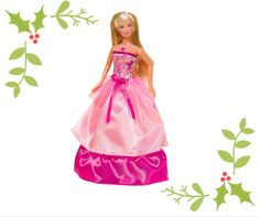 #christmas #gifting #simbatoys #steffilove #pink #gifts #colorful #doll #cute