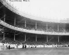 1st World Series Game Polo Grounds NY 1912 Vintage 8x10 Reprint Of Old Photo