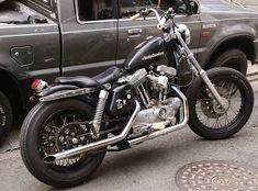 Sportster Chopper, Sportster Motorcycle, Hd Sportster, Custom Sportster, Harley Bikes, Bike Rider, Cool Motorcycles, Harley Davidson Sportster, Classic Bikes