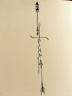 Women's faith tattoo with arrows ♥️ love love love outer forearm placement