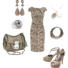 Totally Taupe, created by christa72 on Polyvore