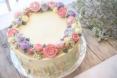 Buttercream Blossom Cake - Google Search