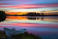 Velvet dawn (Eerolanlahti, Jyväskylä)