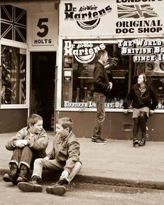This is england, Camden; I was there, wrote on the wall and bought my red shoes.