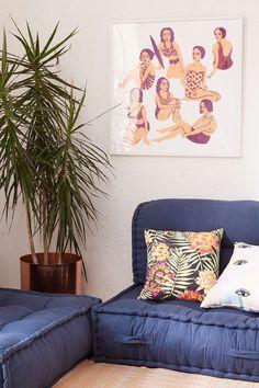 Leah Reena Goren Bathers Art Print - Urban Outfitters