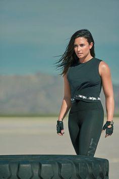 """""""Demi Lovato for Fabletics """" Demi Lovato Body, Demi Lovato Style, Demi Lovato Lesbian, Demi Lovato Workout, Selena Gomez, Looks Academia, Demi Love, Demi Lovato Pictures, Gym Outfits"""