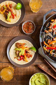 Skillet Chicken Fajitas: 26 Mexican Recipes for Your Next Fiesta