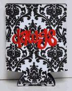 """cute """"Dawgs"""" embroidered koozie"""