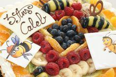 Le gâteau Abeille de Fiston.