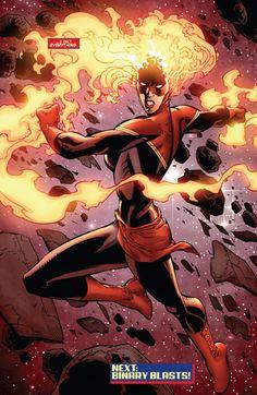 Captain Marvel  Avengers #19