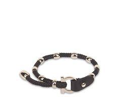 Gancio Closure Bracelet - Cufflinks and Jewelry - Ties & Accessories - Men - Salvatore Ferragamo
