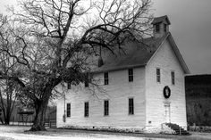 Old Boxley Church and community building, Boxley Valley, Buffalo National River