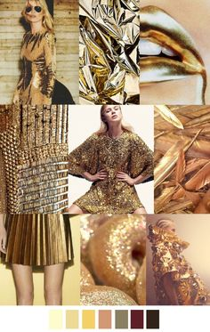 gold, metallic, glitter, folds, pleated skirt, gilded, futuristic