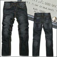 Vendre Jeans Dolce & Gabbana Homme H0080 Pas Cher En Ligne.