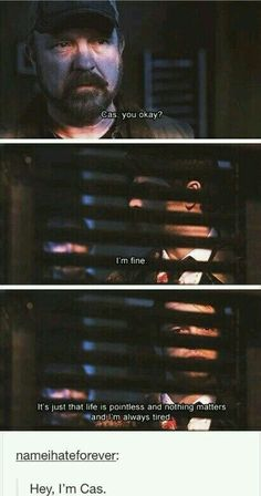 We're all Cas.