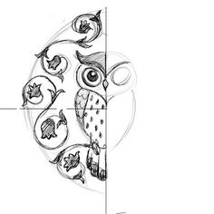 love owls I want to draw one on my backpack
