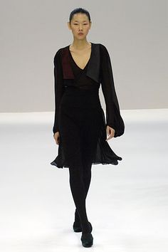 Akris | Fall 2006 Ready-to-Wear Collection | Han Jin Modeling | Style.com