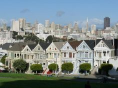 The Painted Ladies of San Francisco #travel #California