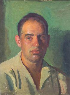 Portrait by Henry Hensche on pleinairliaison.tumblr.com
