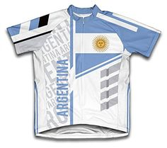 Argentina ScudoPro Short Sleeve Cycling Jersey for Men Size 2XL -- Want  additional info  43e92132f