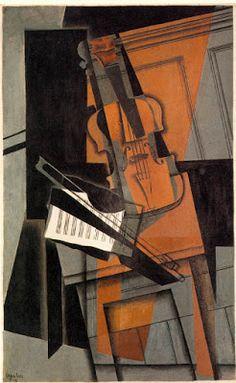 TICMUSart: The violin - Juan Gris (1916) (I.M.)