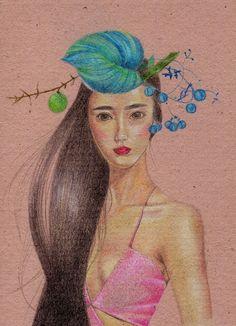 Seika Yamada Portfólio: Folhas