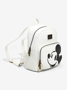 ea3237b27c43 Loungefly Disney Mickey Mouse Minimal Mini Backpack - BoxLunch Exclusive