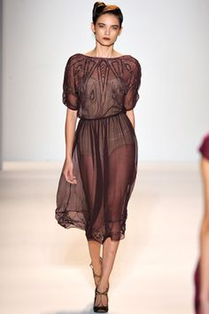 Fall 2012 RTW, Designer: Lela Rose